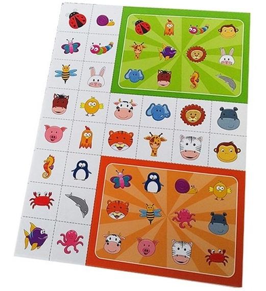 30 Lotería Bingo Souvenir Sorpresitas Cumpleaños