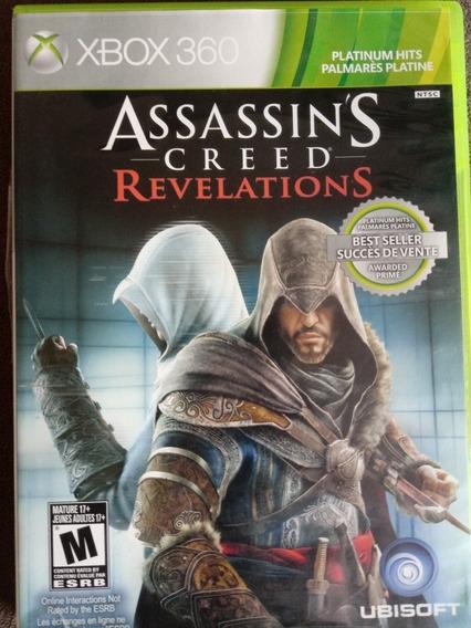 Assassin`s Creed Revelations Usado Original Xbox 360