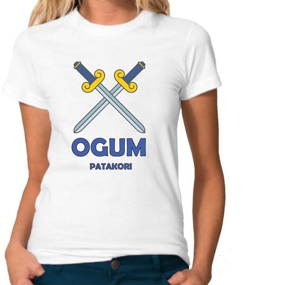 Camiseta Masculina Camiseta Feminina Ogum Umbanda