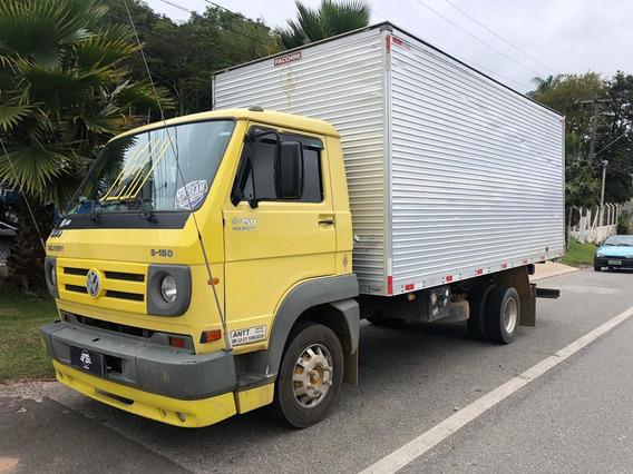Vw 8150 8 150 Delivery Baú 5,50m Fs Caminhoes