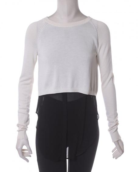 Suéter Crema Con Negro Addison