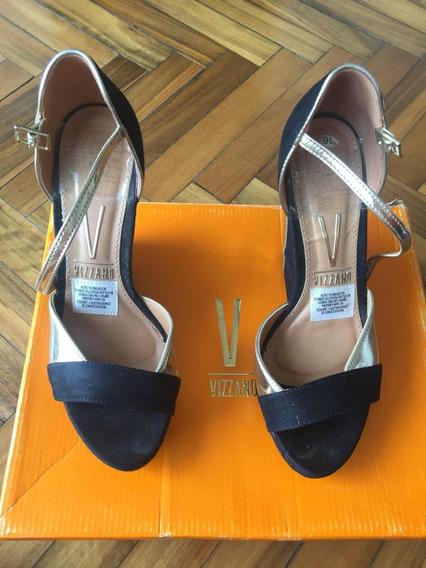 Zapatos Vizzano Negro / Dorado