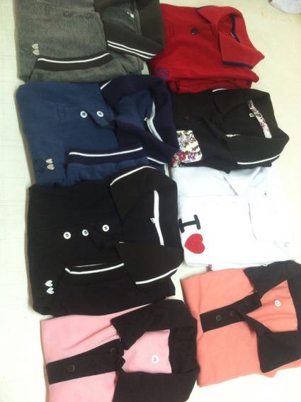 Camisa Polo Feminina A Masculina