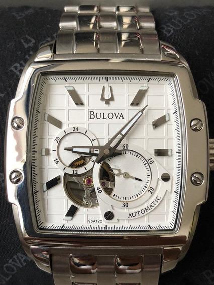 Relógio Bulova 96a122 Automatico Dual Aperture Quadrado