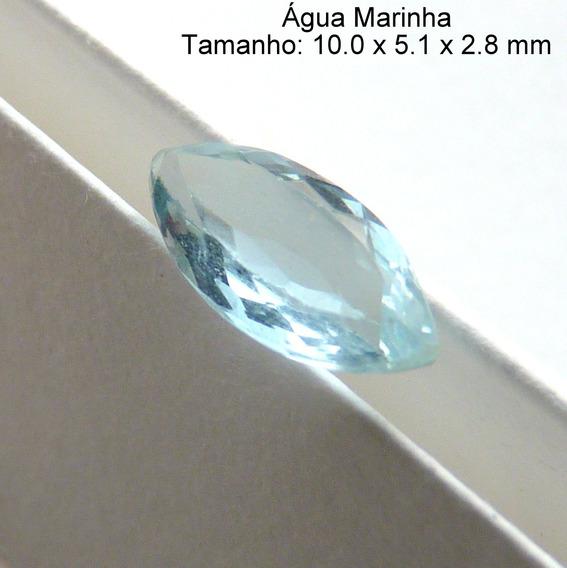 Água Marinha Natural Pedra Preciosa 2863b
