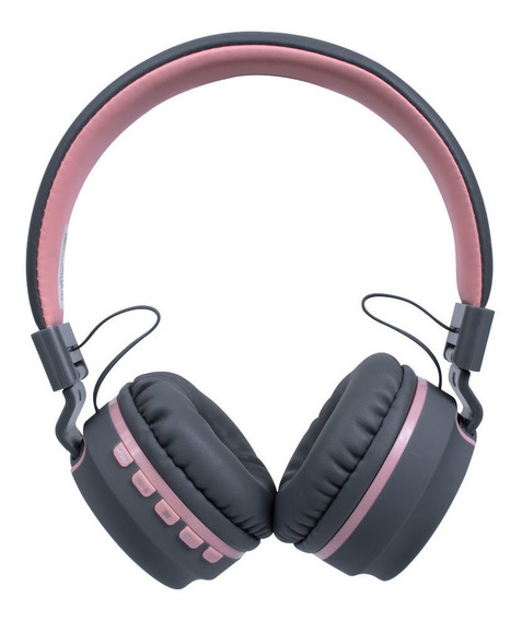 Fone Ouvido Headset Candy Bluetooth Microfone Hs310 Rosa Oex