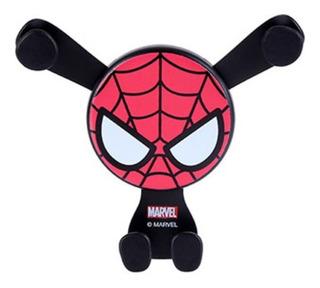Suporte Para Celular Carro Homem Aranha - Marvel Miniso