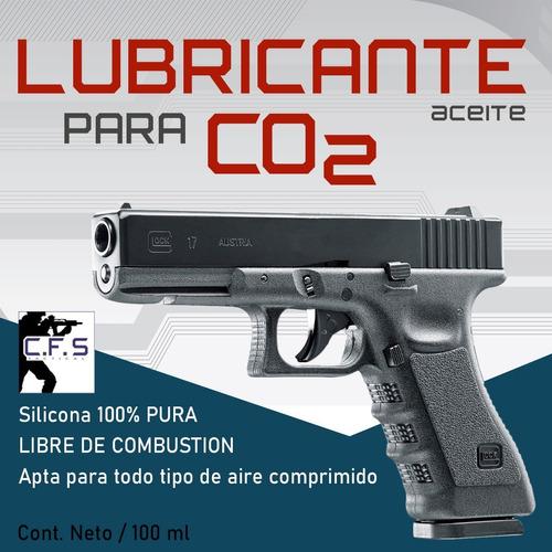 Imagen 1 de 2 de Aceite Silicona Para Armas Co2 Aire Comprimido 100ml