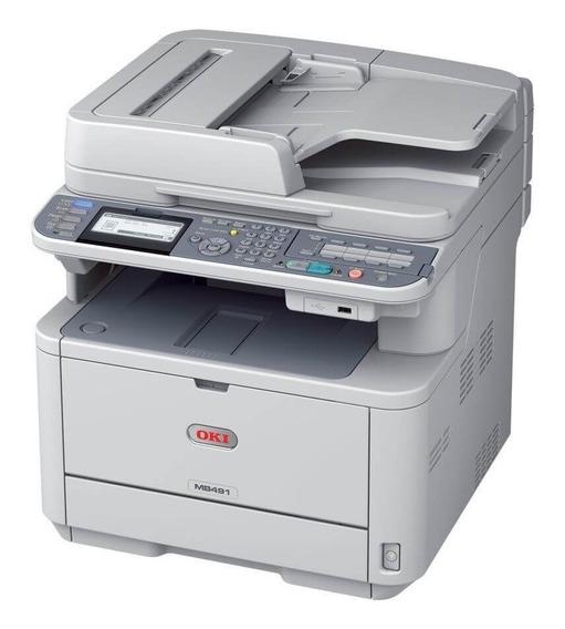 Impressora Multifuncional Okidata Mb491 / Mb491+