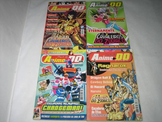 Anime Do Extra/collection - Lote 4 Revistas