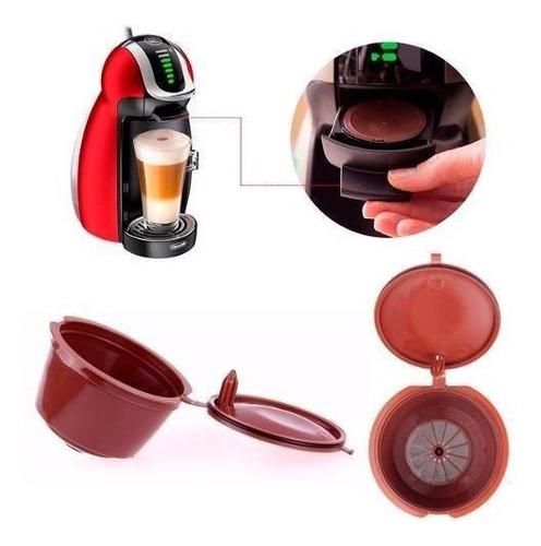Imagen 1 de 10 de Capsula Reusable Para Cafetera Dolce Gusto H3236