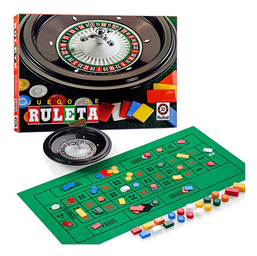 Imagen 1 de 4 de Juego De Ruleta Club Casino Juego De Mesa Ruibal