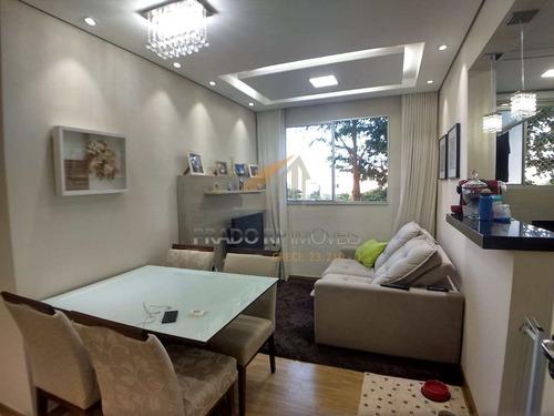 Apartamento Com 2 Dorms, Condomínio Mirante Sul, Ribeirão Preto - R$ 250 Mil, Cod: 56296 - V56296