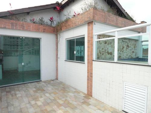 Village Com 3 Dormitórios À Venda, 200 M² Por R$ 1.200.000,00 - Embaré - Santos/sp - Vl0037