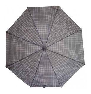 Sombrilla/paraguas Free Home Automática Cuadro Gris C Tk254