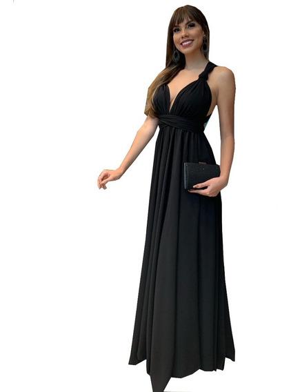 Vestido Longo Infinity Mil Formas Uso Festa Madrinha Vl1006