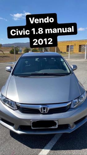 Imagem 1 de 8 de Honda Civic 2012 1.8 Lxl Flex 4p