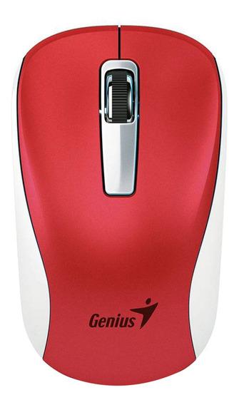 Mouse inalámbrico Genius NX-7010 rojo