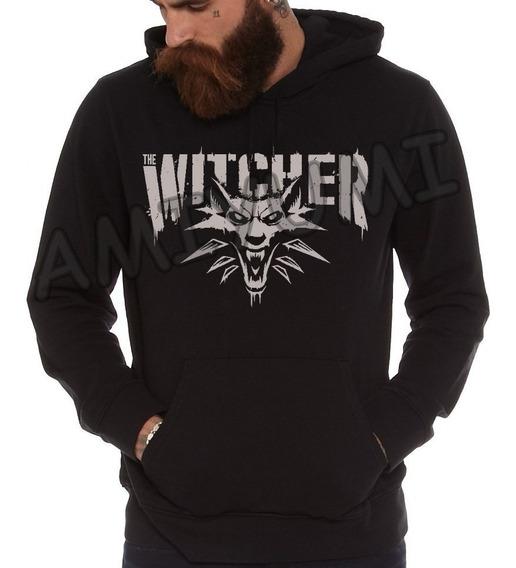 Moletom The Witcher Blusa Canguru + Camiseta Metallica