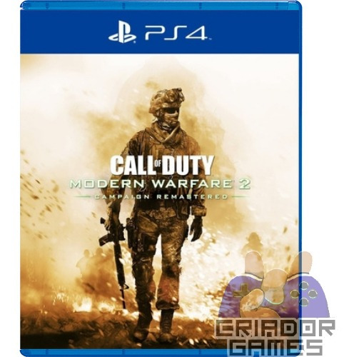 Call Of Duty Modern Warfare 2 Campaign Remastered Ps4 1° Psn