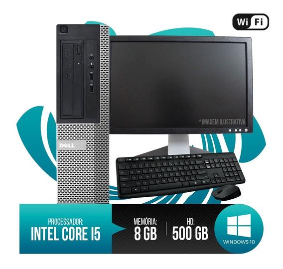 Pc Completo Dell Optiplex Core I5, 8gb Ram Ddr3, Hd 500gb...