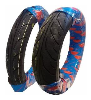 Cubiertas 130 70 17 + 100 80 17 Fz Twister250 Uso Sin Camara