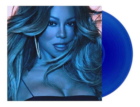 Lp Mariah Carey Caution Vinil Azul Lacrado Limitado B&n Novo