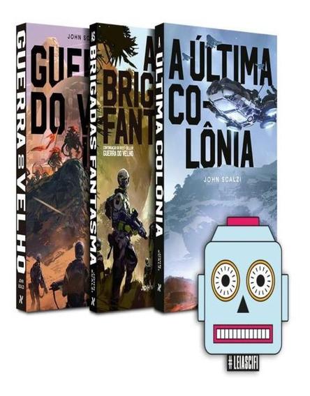 Kit Guerra Do Velho + Brinde Adesivo Sci-fi
