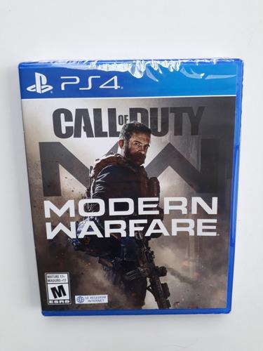 Imagen 1 de 5 de Call Of Duty Modern Warfare Juego Ps4 Nuevo Sellado