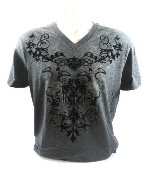 Camisa Guess Original Masculina Cinza