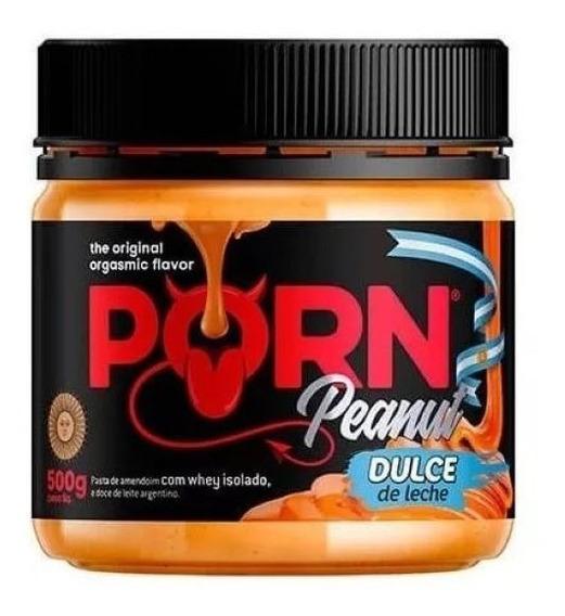 Pasta De Amendoim Porn Peanut Doce De Leite 500g - Porn Fit