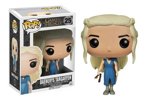 Pop! Game Of Thrones Got Daenerys Targaryen Blue Dress Nuevo