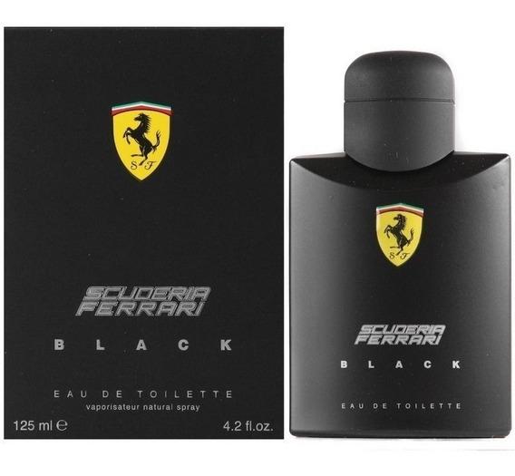 Perfume Ferrari Black 125ml - 100% Original A Pronta Entrega