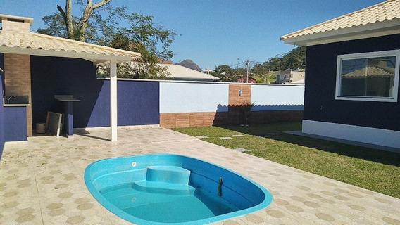 Casa Em Cajueiros (itaipuaçu), Maricá/rj De 140m² 3 Quartos À Venda Por R$ 399.000,00 - Ca273578