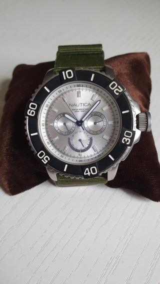 Relógio Nautica Multifunção - A18644g