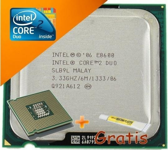 Processador Core 2 Duo E8600 3.33 Ghz 1333 6m 775