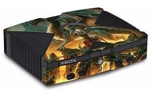 Skin  Adhesivo Protector Para Xbox Negro Clasico Varios