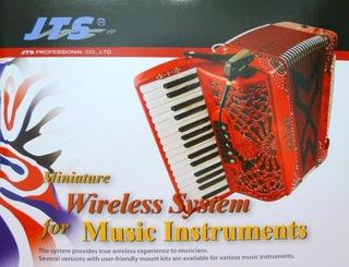 Microfono Inalambrico Profesional Jts Para Acordeon