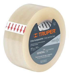 Cinta Transparente 150 Mt Truper 12557