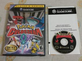Game Cube: Pokémon Colosseum Americano Na Caixa! Raríssimo!