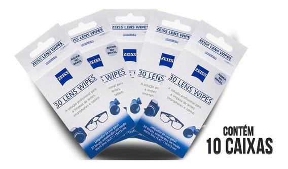 12 Caixas De Lenços Umedecidos Zeiss Lens Wipes Limpeza.