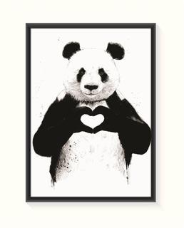 Pôster Panda - Pequeno