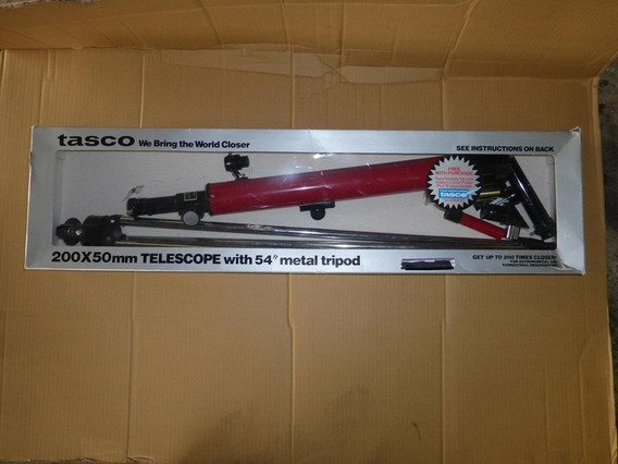 Tasco 56t Telescope 200x50 Mm With 54 Metal TriPod