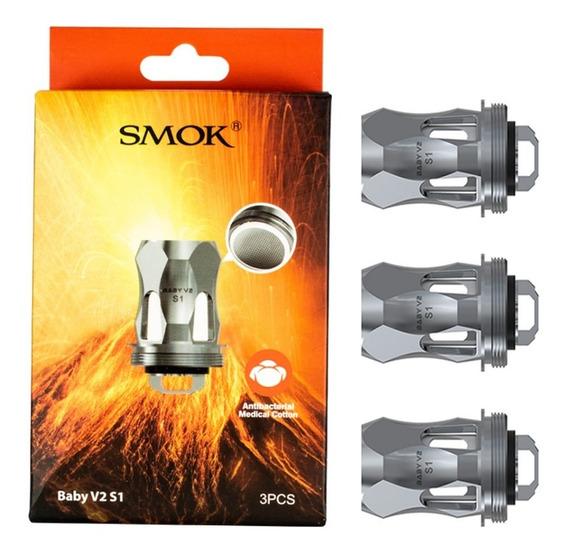 Coil Baby V2 S1 Tfv8 Smok - Kit C/3 Unidades - Original - V9