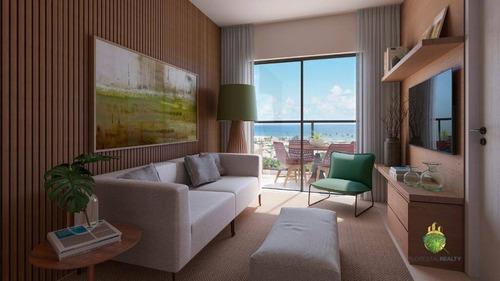 Apartamento Com 1 Dormitório À Venda, 40 M² Por R$ 315.000,00 - Stella Maris - Salvador/ba - Ap1036