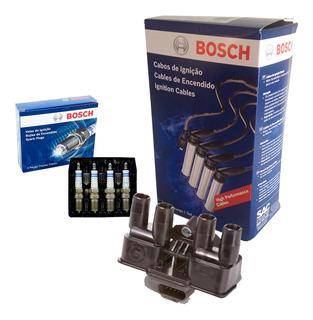 Bobina + Cabo + Vela Bosch Agile 1.4 8v 09 10 11 12 13 14 15
