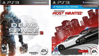 Dead Space 3 + Need For Speed Most Wanted Ps3