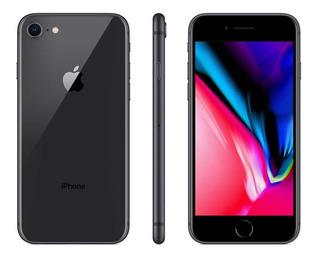 iPhone 8 Cinza Espacial 4,7 4g 128 Gb Câm 12 Mp - Mx162br/a