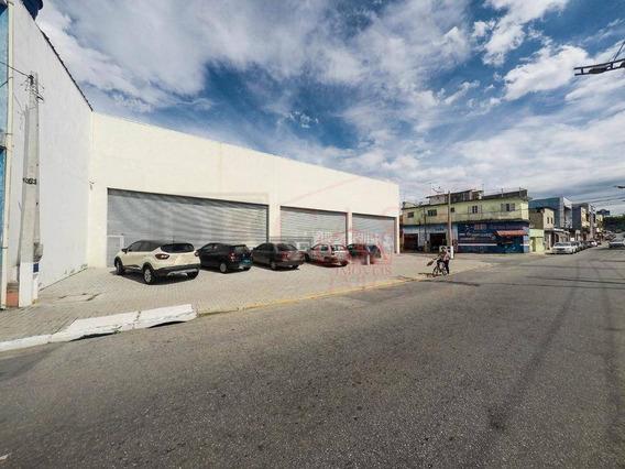 Galpão Comercial Com 662 M2 De Estacionamento, Em Calmon Viana, Poá/sp. 620 M2 - Ga0035