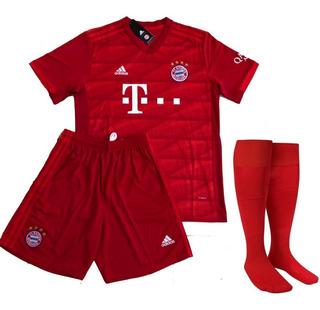 Camisa Do Bayern De Munique Oficial + Short Meiao De Brinde